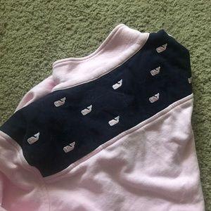 Pink women's vineyard vines shep shirt
